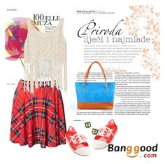 """banggood 21"" by aida-1999 ❤ liked on Polyvore featuring E + J"