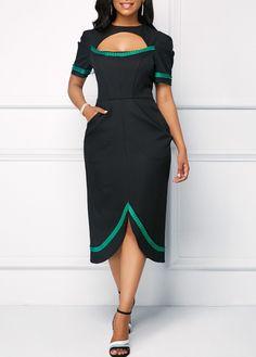 6c9f4710f Dresses  Fashion  Dresses Elegant Midi Dresses
