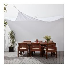 IKEA DYNING canopy Easy to keep clean and fresh as the fabric can be machine-washed.