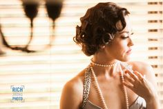 Actress Cynthia Quiles in Old Hollywood Glam