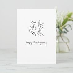 Fall Cards | Zazzle, #Cards #fall #ThanksgivingMessagesforcards #Zazzle Thanksgiving Messages, Happy Thanksgiving, Fall Cards, Autumn Theme, Custom Greeting Cards, Thoughtful Gifts, Floral Card, Paper Texture, Place Card Holders