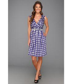 Ivy & Blu Maggy Boutique Printed Sleeveless V-Neck Dress