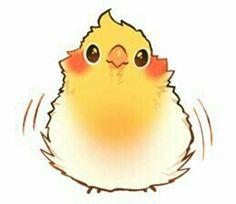 cute drawings of birds Cute Animal Drawings, Animal Sketches, Bird Drawings, Kawaii Drawings, Cute Drawings, Cute Kawaii Animals, Cute Funny Animals, Funny Birds, Cute Birds