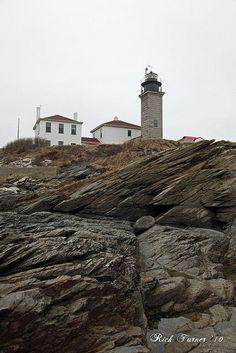 Beavertail Lighthouse, Rhode Island...