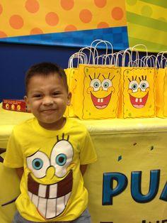Spongebob party for Chris bag Spongebob Birthday Party, Boy Birthday Parties, 8th Birthday, Baby Shower Gender Reveal, Craft Party, Party Time, Birthdays, Spongebob Squarepants, Crafts