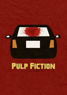 Pulp Fiction Art Print by sam harland