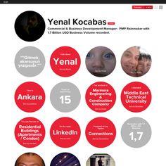 Graphical bio: Yenal Kocabas