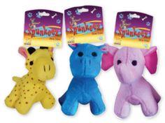 Spunkeez Plush Animals Case Pack 24