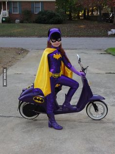 Excellent 60's Batgirl costume