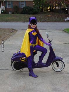 Excellent 60's Batgirl costume