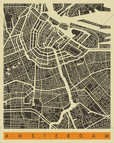 City Map - Amsterdam