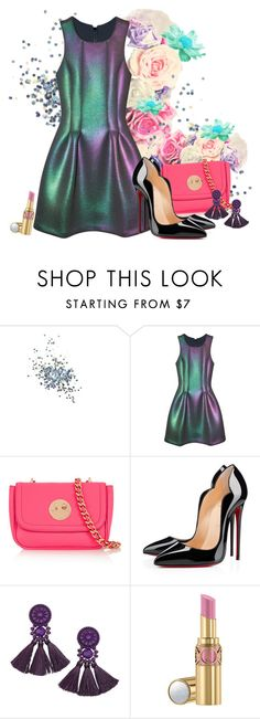 """Rad"" by gabyidc ❤ liked on Polyvore featuring Topshop, Cynthia Rowley, Hill & Friends, Christian Louboutin, H&M and Yves Saint Laurent"