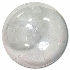 24'' Clear SE Beach Balls