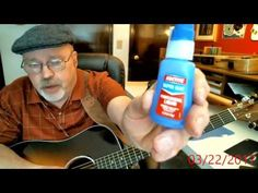 (5) Solve Fingertip Pain from Guitar with Loctite Super Glue - YouTube