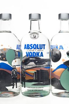 ABSOLUT Blank Edition by Mario Wagner