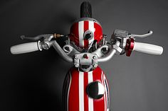 Honda SL70 Cafe Racer by DavmoMoto #motorcycles #caferacer #motos | caferacerpasion.com