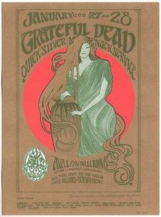 Image result for old concert grateful dead posters