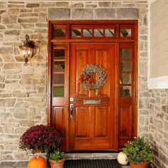 Solid Wood Entry Doors Design Ideas, Pictures, Remodel, and Decor - page 10