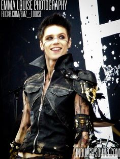 black veil brides andy biersack | Recent Photos The Commons Getty Collection Galleries World Map App ...