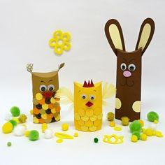 Tipy na velikonoční tvoření s dětmi – Potvor - pomáhat tvořit