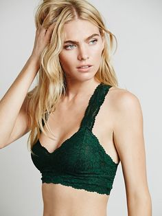 Free People Galloon Lace Racerback at Free People Clothing Boutique