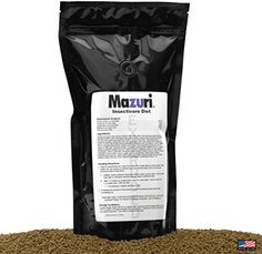 Mazuri Insectivore Diet, Designed For A Range Of Insect-Eating Mammals, Birds, Reptiles And Amphibians (Shrews, Hedgehogs, Sugar Gliders, Anteaters, Swifts, Swallows, Bearded Dragons & More, 20oz(0.5kg) - http://www.bunnybits.org/mazuri-insectivore-diet-designed-for-a-range-of-insect-eating-mammals-birds-reptiles-and-amphibians-shrews-hedgehogs-sugar-gliders-anteaters-swifts-swallows-bearded-dragons-more-20oz/