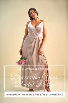 Jasmine Bridal has a plus-size wedding dress for every curvy bride. Dresses for junior bridesmaids & flower girls too. Dress your bride tribe in Jasmine! Junior Bridesmaids, Bridesmaid Dresses Plus Size, Wedding Bridesmaid Dresses, Wedding Dress Styles, Bridal Dresses, Party Dresses, Girls Pageant Dresses, Prom Dresses Blue, Casual Dresses