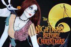 Sally - Nightmare Before Christmas Makeup Walkthrough