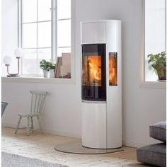 Contura Style Woodburning Stove from Contura. Buy Contura style stove in grey or black in Wales from Contura Approved retailer outlets in Carmarthenshire, Pembrokeshire and Ceredigion. Home Fireplace, Open Plan Kitchen Dining Living, House Design, Stove, Home, Wood Burning Fireplace, Wood Burning Stove, Home Decor, Wood Stove
