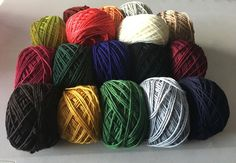 8 PLY MERINO WOOL IN A VARIETY OF COLOURS - Yarn Barn