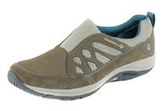 Merrell Womens Andean Moc Slip On Shoes Brown 10 -- Check this awesome product by going to the link at the image.