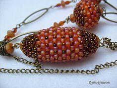 Gyöngymanó gyöngyei: bogyó/beaded bead #PurelyInspiration
