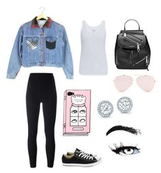 """""""Untitled #122"""" by vintage6739 on Polyvore featuring adidas Originals, Majestic, Converse and Marc Jacobs"""