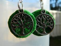 Tree of Life antiqued Silver and Leather by NativePrideCreations, $5.99