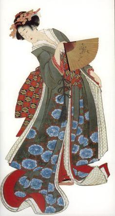 Katsushika Hokusai (葛飾 北齋, October 1760 (exact date questionable) – May was a Japanese artist, ukiyo-e painter and printmaker. Japanese Drawings, Japanese Prints, Japanese Kimono, Japanese Illustration, Illustration Art, Botanical Illustration, Art Geisha, Art Occidental, Japon Tokyo