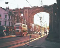 Bus in Preston Road, Brighton: 2nd October 1961, by Leslie Whitcomb