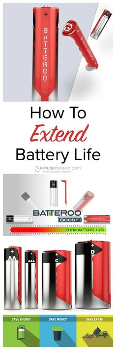 How To Extend Battery Life - This clever invention helps you save money on batteries by making batteries last longer. Using fewer batteries is better for the environment as well as your wallet. Sponsored.