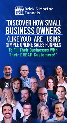 What happens when #ClickFunnels brick and mortar winners start talking about the exact strategies that took them from zero to a million in revenue in under a year?  Want to know the exact #strategies they used to turn up the juice in their business to attract their ideal #customers and clients in record time?  All you have to do is watch and listen to what they did and MODEL it for your business.   You can get the details AND register for the FREE Brick and Mortar #Interview Series here...