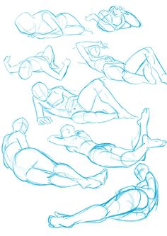 44 Ideas For Art Reference Poses Laying Down luis velez Body Reference Drawing, Drawing Body Poses, Anime Poses Reference, Drawing Tips, Anatomy Reference, Drawing Techniques, Anatomy Art, Anatomy Drawing, Manga Drawing