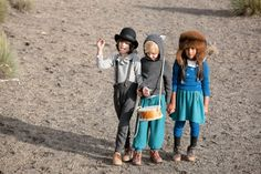 Inspired by wandering troubadours, Waddler kids fashion for fall 2013 shot in Bolivia.  (c) photos from Waddler kids