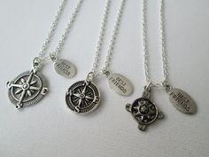 3 Best Friends Compass Open Compass and Antique by HazelSarai, $42.00