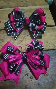 Discover thousands of images about Carina Bolivar Ribbon Hair Bows, Diy Hair Bows, Diy Bow, Diy Ribbon, Ribbon Crafts, Diy Crafts, Barrettes, Hairbows, Hair Bow Tutorial