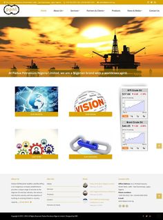 Website Design of Padua Petroleum Nigeria Limited, an indigenous company established to provide a unique range of services to the Nigerian Oil and Gas Industry.  #websitedesign #website #Nigeria #oilandgas #company #petroleum
