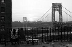 Fort Lee, Washington Heights, Hudson River, George Washington Bridge, Brooklyn Bridge, New Jersey, New York City, Park, Travel