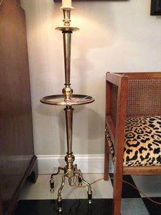 Vintage Brass Chapman Lamp on Chairish.com