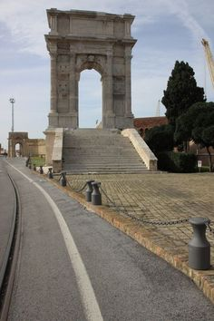 Ancona, Marche, Italy - Arco di Traiano Photo by Celo Risi -- National Geographic Your Shot