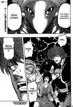 TORIKO CHAPTER 323 read it now at mangafreak.net #manga #anime #mangafreak #toriko
