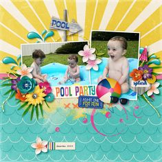 Layout using {Bahama Mama} Digital Scrapbook Kit by Melissa Bennett Designs available at Sweet Shoppe Designs http://www.sweetshoppedesigns.com//sweetshoppe/product.php?productid=30986&cat=753&page=1 #melissabennettdesigns