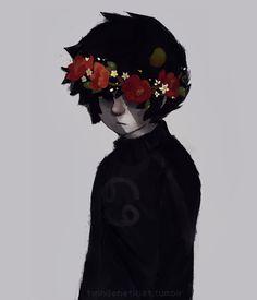 Flowercrown Karkat
