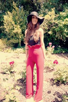 70's flare love these pants the most but this whole outfit is a yes lease and thank you